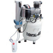 Dental compressor / medical / 2-workstation / oil-free
