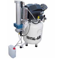 Dental compressor / medical / 3-workstation / oil-free
