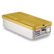 Instrument sterilization container / aluminum / perforated