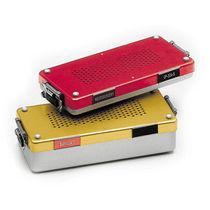 Neurosurgery instrument sterilization container / for ENT instruments / for dental instruments / perforated