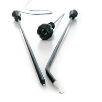 Thoracoscopic electrode / laparoscopic / bayonet / hook