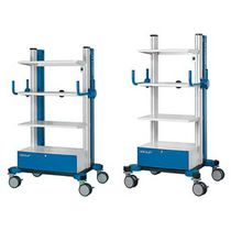 Storage trolley / for endoscopes / with drawer