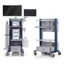 Storage trolley / endoscopy / with drawer / with shelf