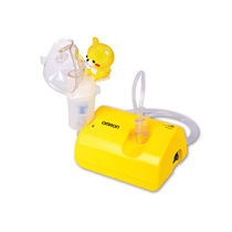 Electro-pneumatic nebulizer / pediatric / with mask / with compressor