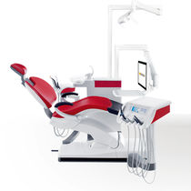 Dental unit with delivery system / with monitor / compact / with hygiene system