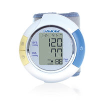 Automatic blood pressure monitor / wrist / with pulse oximeter