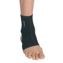 Ankle sleeve / open heel