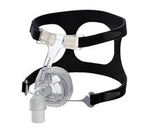 Artificial ventilation mask / nasal / silicone