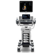 On-platform, compact ultrasound system / for multipurpose ultrasound imaging