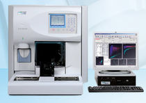 Automatic hematology analyzer / fluorescence flow cytometry / bench-top