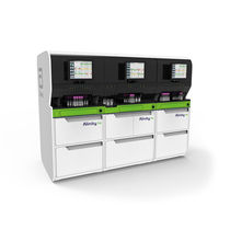 6-part differentiation hematology analyzer / automatic / compact / for hospitals