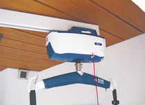 Ceiling-mounted rail / for patient lifts