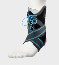 Ankle orthosis / ankle strap / open heel / lace-up