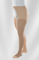 Single-leg pantyhose / women's