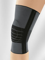 Knee sleeve / with flexible stays / with patellar pad