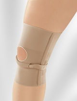 Infra-patellar knee strap / knee sleeve / with flexible stays / open knee