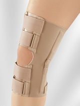 Knee orthosis / with flexible stays / open knee