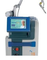 Gynecological surgery laser / CO2 / diode / trolley-mounted