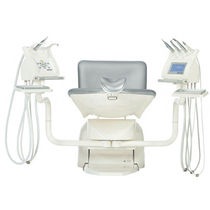Dental treatment unit with delivery system