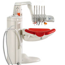 Dental treatment unit with delivery system / compact