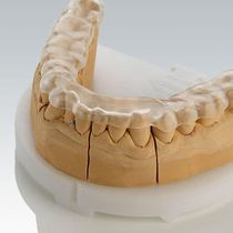 PMMA dental material / for therapeutic splints / transparent