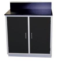 Storage cabinet / for dental instruments / for dental laboratories / 2-door