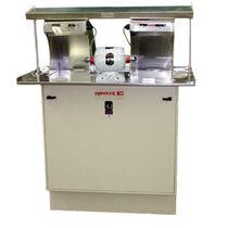 Dental laboratory polishing unit
