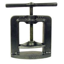 Manual dental laboratory press