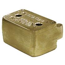Polymerization dental flask / bronze / rectangular