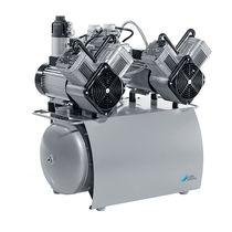 Dental compressor / membrane / 2-workstation / 1-workstation