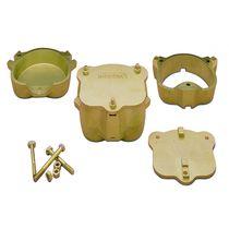 Polymerization dental flask / brass
