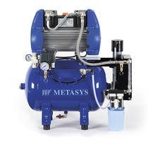 Dental air compressor / with air dryer / membrane