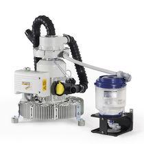 Liquid ring vacuum pump / dental / dry / 3-workstation