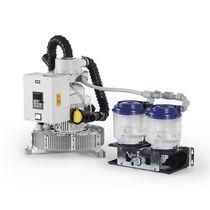 Liquid ring vacuum pump / dental / dry / 5-workstation