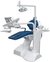Dental treatment unit with delivery system / with light