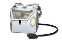 Foot-operated sandblaster / 4 tanks