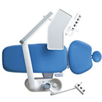 Dental unit with electro-hydraulic chair / with delivery system / with LED light