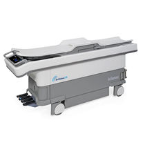 Electric examination table / on casters / 1 section / MRI