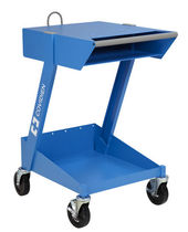 Storage trolley / for electrosurgical units / 2-shelf
