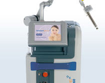 Gynecological surgery laser / CO2 / trolley-mounted