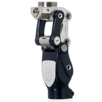 Polycentric prosthetic knee joint / with stance control / manual-lock / 1