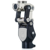 Polycentric prosthetic knee joint / with stance control / hydraulic / manual-lock