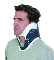 1-piece emergency cervical collar / adjustable size / with tracheal opening