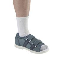 Semi-rigid sole post-operative shoes / adult