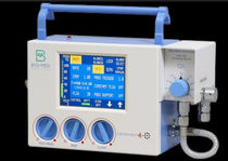 Transport ventilator / resuscitation / CPAP / with touch screen