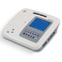 Resting veterinary electrocardiograph / digital / 6-channel / with printer