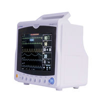 Intensive care multi-parameter monitor / ECG / portable / veterinary