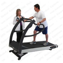 Cardiac stress test equipment / trolley-mounted / with treadmill