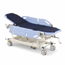 Transfer stretcher trolley / manual / 2-section