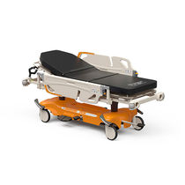 Emergency stretcher / height-adjustable / on casters